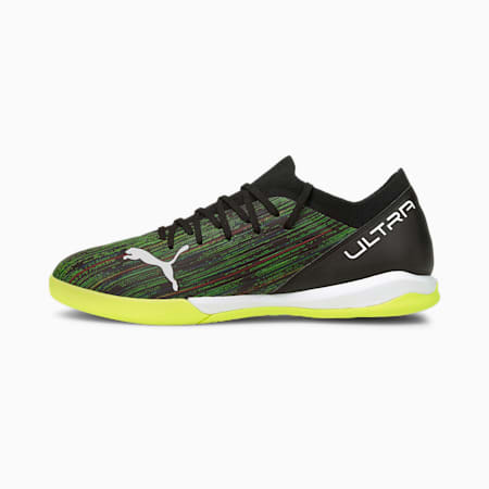 Chaussures de football ULTRA 3.2 IT homme, Black-White-Yellow Alert, small