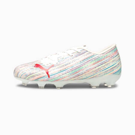 ULTRA 2.2 FG/AG Youth Football Boots, Puma White-Red Blast-White, small-GBR
