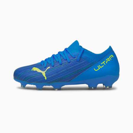 ULTRA 3.2 FG/AG Youth Football Boots, Nrgy Blue-Yellow Alert, small-GBR