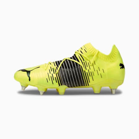 FUTURE Z 1.1 MxSG Men's Football Boots, Yellow Alert-Black-White, small
