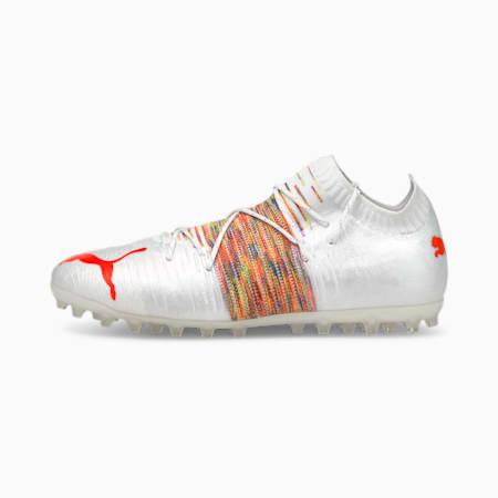 FUTURE Z 1.1 MG Men's Football Boots, Puma White-Red Blast, small