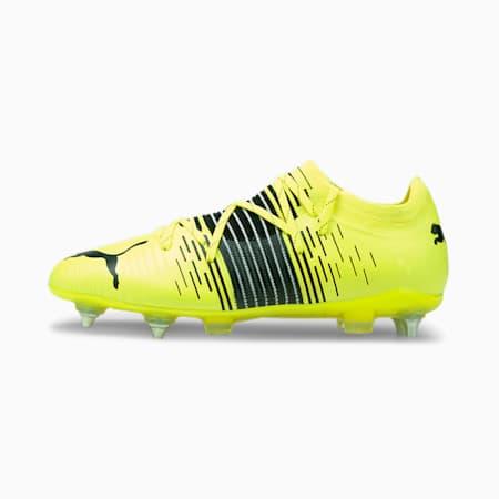 Męskie buty piłkarskie FUTURE Z 2.1 MxSG, Yellow Alert- Black- White, small