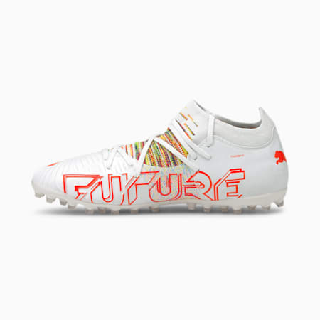 FUTURE Z 3.1 MG Men's Football Boots, Puma White-Red Blast, small