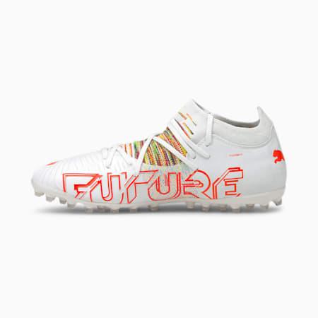 FUTURE Z 3.1 MG voetbalschoenen heren, Puma White-Red Blast, small