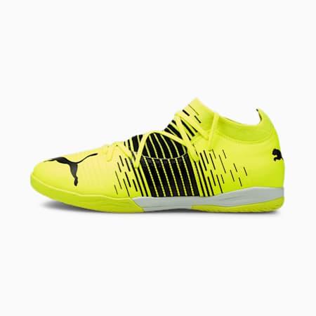 Męskie buty piłkarskie FUTURE Z 3.1 IT, Yellow Alert- Black- White, small