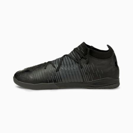 Zapatos de fútbol FURTURE Z3.1 TT de hombre, Puma Black-Asphalt, pequeño