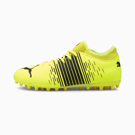 Botas de fútbol para hombre FUTURE Z 4.1 MG, Yellow Alert- Black- White, small