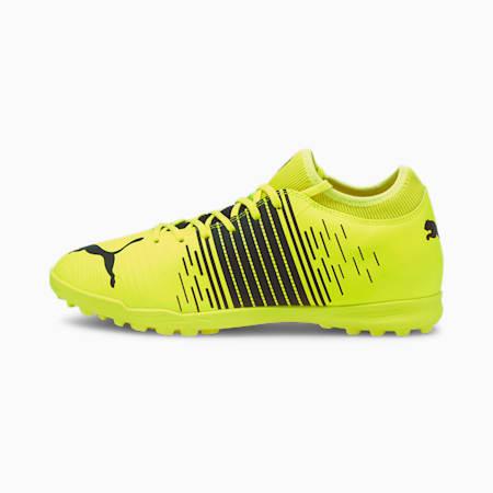 Scarpe da calcio FUTURE Z 4.1 TT uomo, Yellow Alert- Black- White, small
