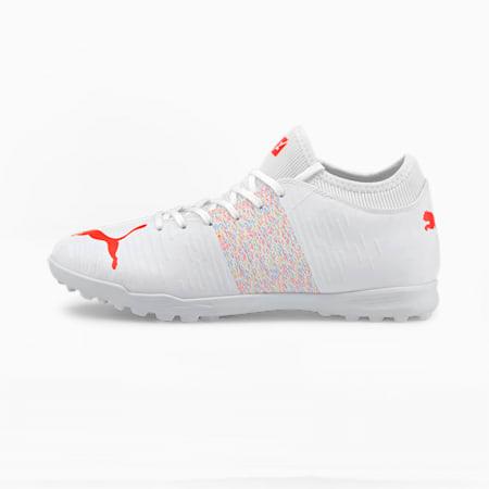 FUTURE Z 4.1 TT Men's Football Boots, Puma White-Red Blast, small