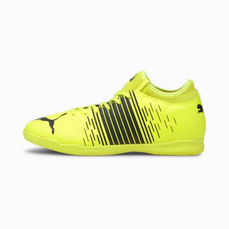 Męskie buty piłkarskie FUTURE Z 4.1 IT, Yellow Alert- Black- White, small