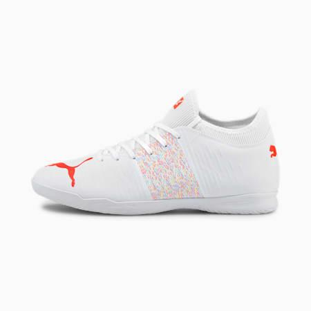 Męskie buty piłkarskie FUTURE Z 4.1 IT, Puma White-Red Blast, small
