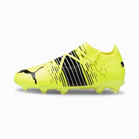 Chaussures de football FUTURE Z 2.1 FG/AG enfant et adolescent, Yellow Alert-Black-White, small