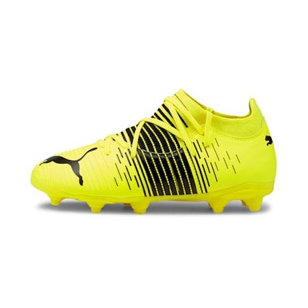 Chaussures de football FUTURE Z 3.1 FG/AG enfant et adolescent, Yellow Alert- Black-White, small