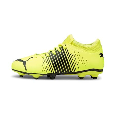 FUTURE Z 4.1 FG/AG Soccer Cleats JR, Yellow Alert- Black- White, small-GBR