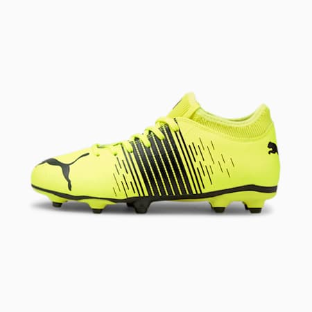 FUTURE Z 4.1 FG/AG Kid's Football Boots, Yellow Alert- Black- White, small-IND