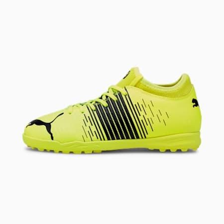 Chaussures de football FUTURE 4.1 TT enfant et adolescent, Yellow Alert- Black- White, small
