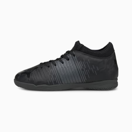 Botas de fútbol juveniles FUTURE Z 4.1 IT, Puma Black-Asphalt, small