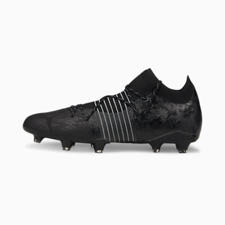 Męskie buty piłkarskie FUTURE Z 1.1 Lazertouch FG/AG, Puma Black-Puma Black, small