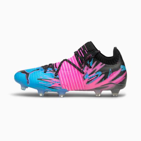 FUTURE 1.1 Creativity FG/AG Herren Fußballschuhe, Puma Black-Blue-Pink-White, small