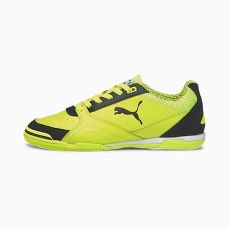 Ibero Futsal Boots, Yellow Alert-Black-Yellow, small-IND