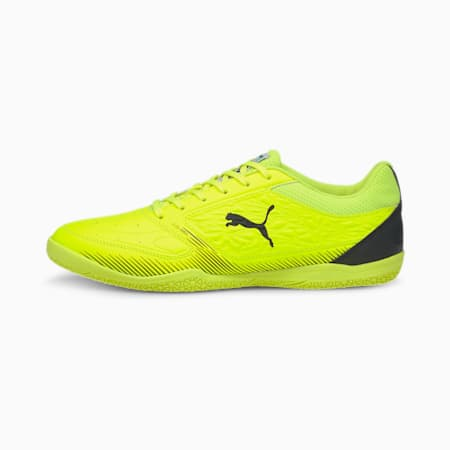 Truco Futsal Shoes, Yellow Alert-Black-Yellow, small-IND