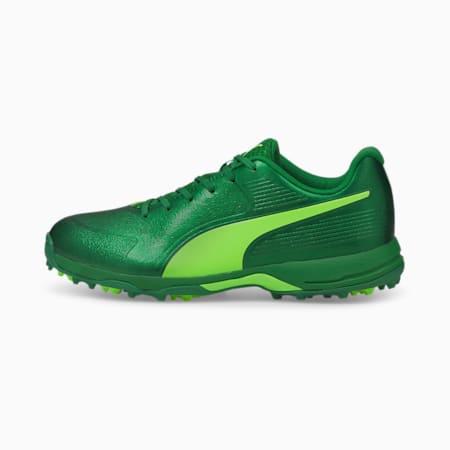 PUMA 20 Men's Rubber Cricket Shoes, Amazon Green-Green Glare, small-IND