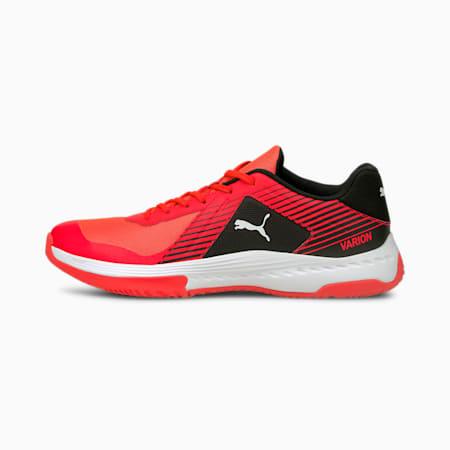 Varion Unisex Indoor Shoes, Red Blast-Puma White-Puma Black, small-IND