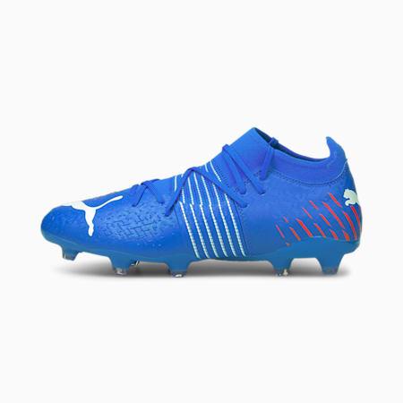 Souliers de soccer à crampons Future Z 3.2 FG/AG, homme, Bleu incroyable-Ensoleillé-Navigue sur le Web, petit