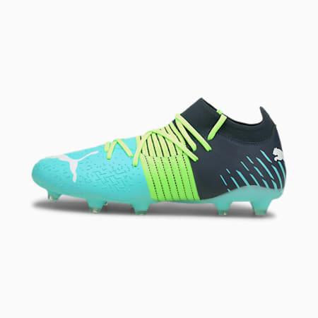 Future Z 3.2 FG/AG voetbalschoenen heren, Green Glare-Elektro Aqua-Spellbound, small