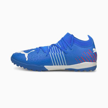 Souliers de soccer à crampons Future Z 3.2 TT, homme, Bleu incroyable-Ensoleillé-Navigue sur le Web, petit