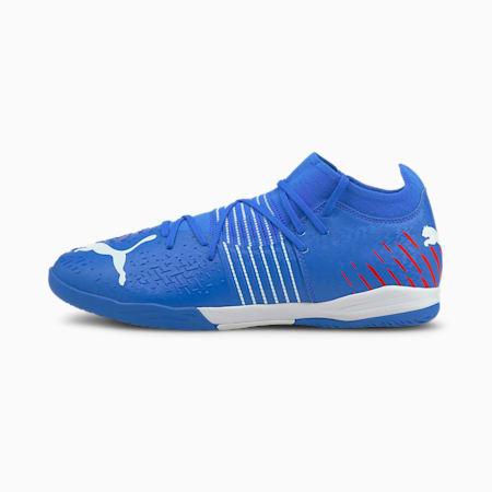 Souliers de soccer à crampons Future Z 3.2 IT, homme, Bleu incroyable-Ensoleillé-Navigue sur le Web, petit