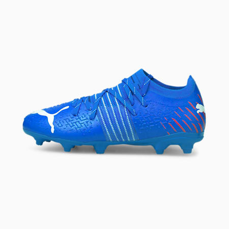 Future Z 3.2 FG/AG Youth Football Boots, Bluemazing-Sunblaze-Surf The Web, small