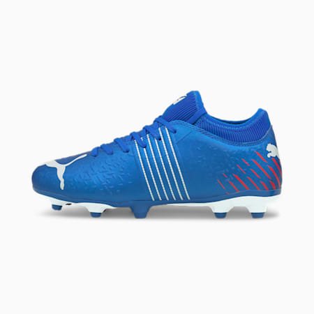 Future Z 4.2 FG/AG Youth Football Boots, Bluemazing-Sunblaze-Surf The Web, small