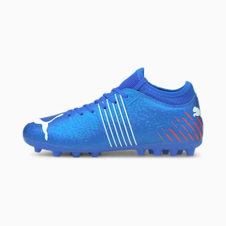 Botas de fútbol juveniles Future Z 4.2 MG, Bluemazing-Sunblaze-Surf The Web, small