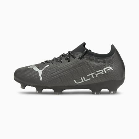 ULTRA 2.3 FG/AG Youth Football Boots, Puma Black-Puma Silver-Asphalt, small-GBR