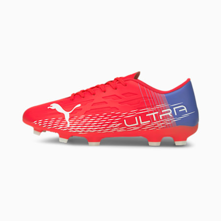 ULTRA 4.3 FG/AG Herren Fußballschuhe, Sunblaze-Puma White-Bluemazing, small