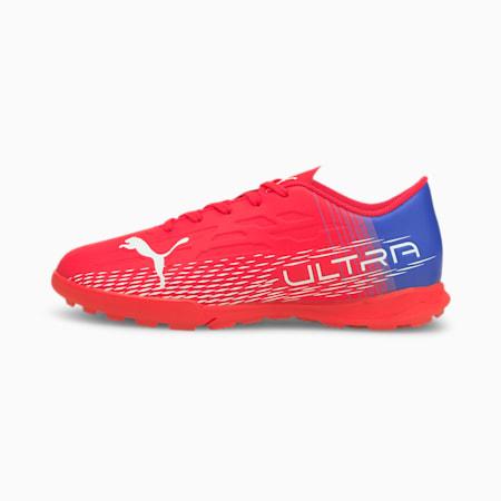 ULTRA 4.3 TT Youth Football Boots, Sunblaze-Puma White-Bluemazing, small