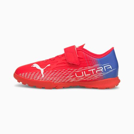 ULTRA 4.3 TT V Youth Football Boots, Sunblaze-Puma White-Bluemazing, small