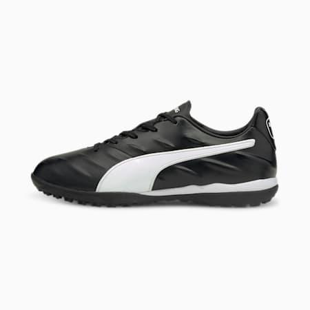 King Pro 21 TT Football Boots, Puma Black-Puma White, small