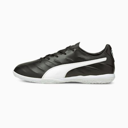 King Pro 21 IT Football Boots, Puma Black-Puma White, small-GBR