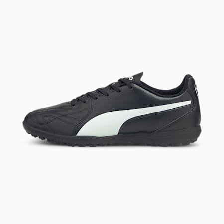 KING Hero 21 TT Unisex Football Boots, Puma Black-Puma White, small-IND