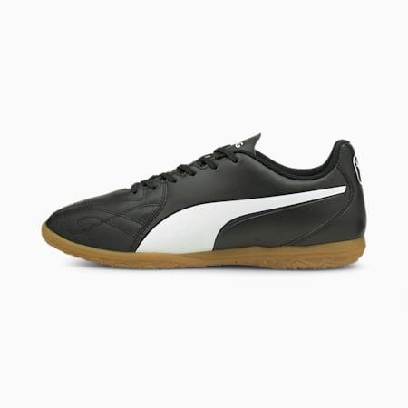 KING Hero 21 IT Unisex Football Boots, Puma Black-Puma White, small-IND