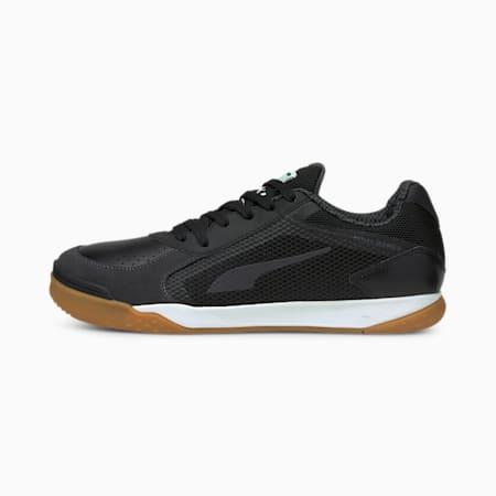 Buty IBERO II Futsal, Puma Black-Puma Black-Gum, small