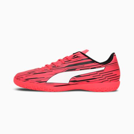 Rapido III IT Men's Football Boots, Sunblaze-Puma White-Puma Black, small-IND