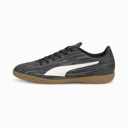 Botines de fútbol Rapido III IT para hombre, Puma Black-Puma White-CASTLEROCK, pequeño