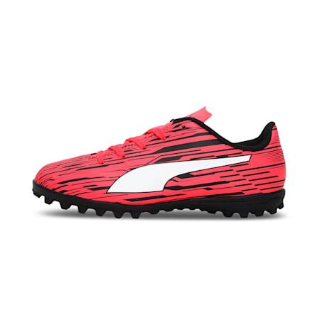 Rapido III TT Kid's Football Boots, Sunblaze-Puma White-Puma Black, small-IND