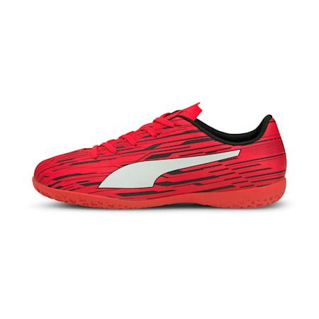 Rapido III IT Kid's Football Boots, Sunblaze-Puma White-Puma Black, small-IND