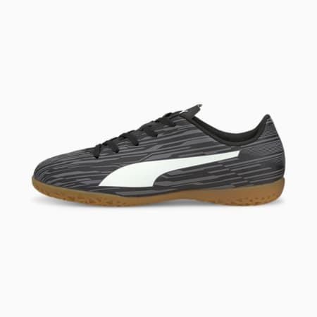 Botines de fútbolRapido III IT JR, Puma Black-Puma White-CASTLEROCK, pequeño