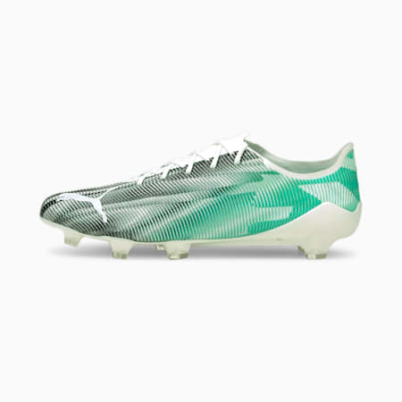 ULTRA SL 21 FG Men's Football Boots, White-Spectra Green-Black, small-GBR