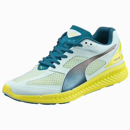 IGNITE Mesh Women's Running Shoes, clearwater-poseidon-sul spg, small-IND